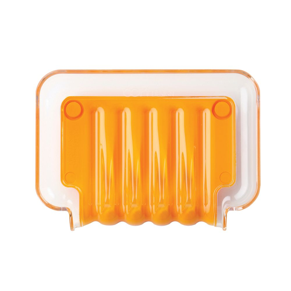 Porte-savon orange Trickle Tray