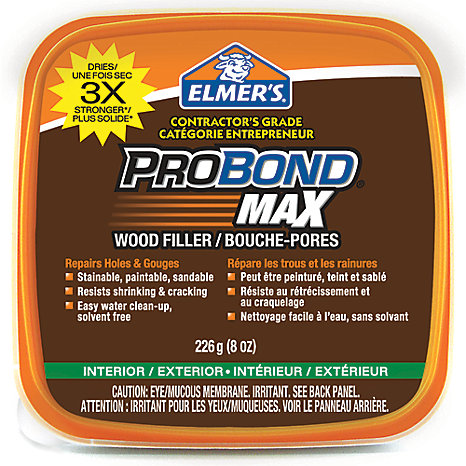 ProBond Stainable Probond Max Wood Filler 226GR Tub | The Home Depot ...