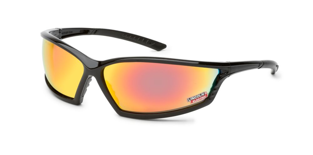 I-Beam Black Safety Glasses