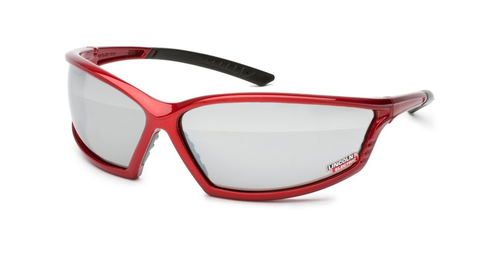 Lincoln Electric I-Beam Red Safety Glasses