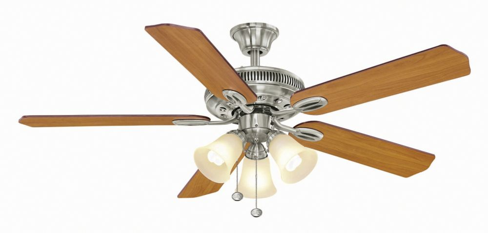 Satin Collection 52 Outdoor Ceiling Fan CLI SH20120015
