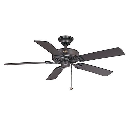 Farmington 52-inch Indoor Natural Iron Ceiling Fan
