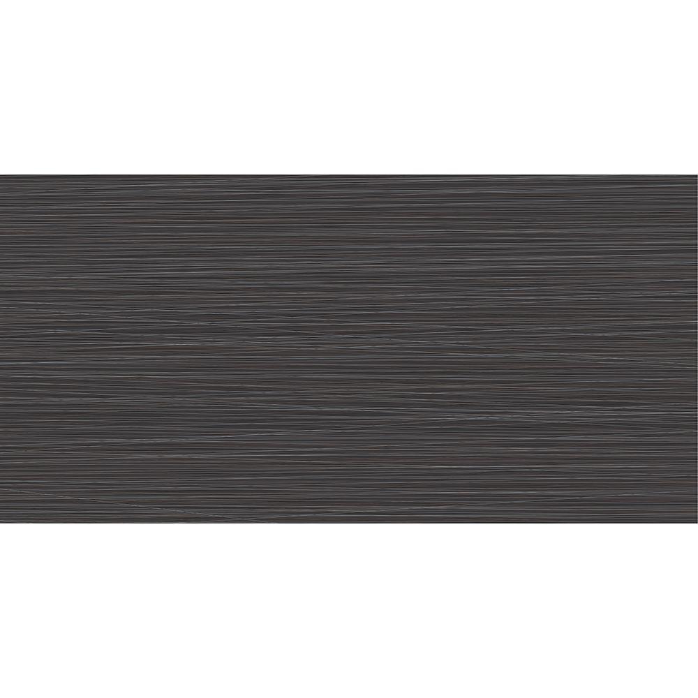 12 Inch x24 Inch Zera Annex Carbon Rectified Porcelain Tile -( 16 Sq. Ft.  / Case)