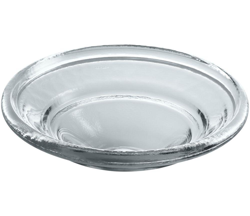Nature's Chemistry Spun Glass Vessel Sink