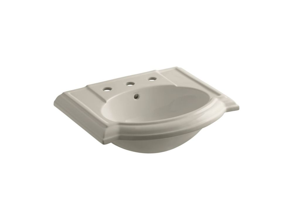 Devonshire Bathroom Sink Basin with 8-inch Centres