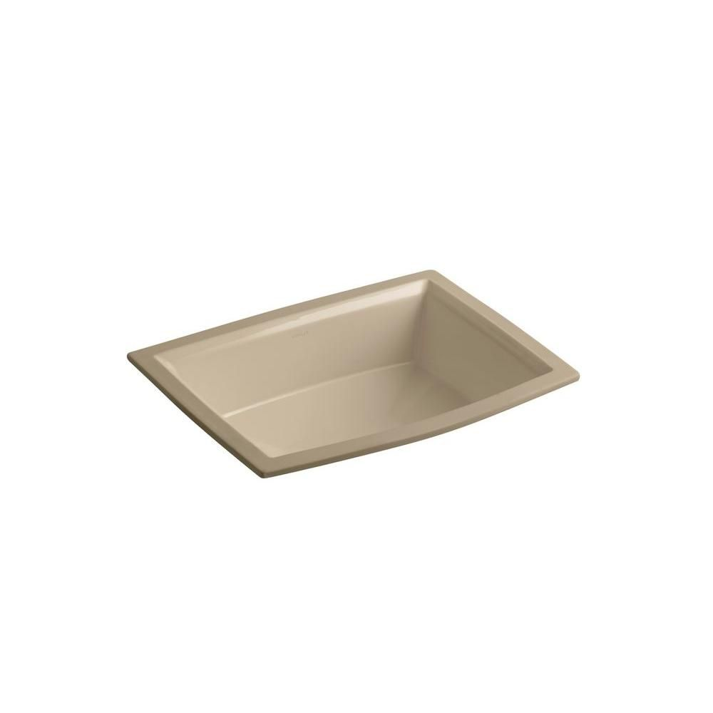 Archer 17 5/16-inch L x 13-inch W Undercounter Bathroom Sink