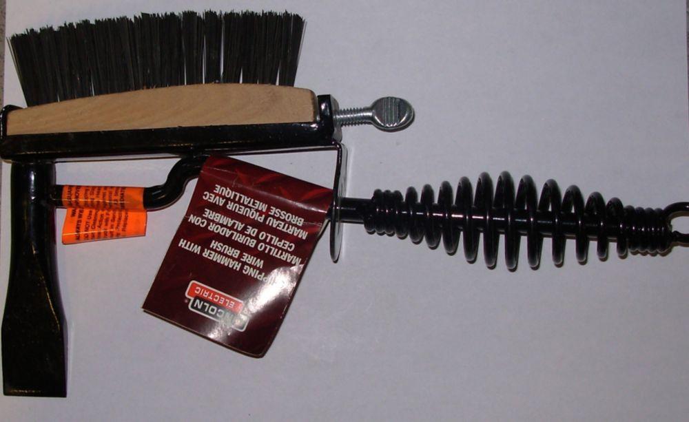 Chipping Hammer W/Brush