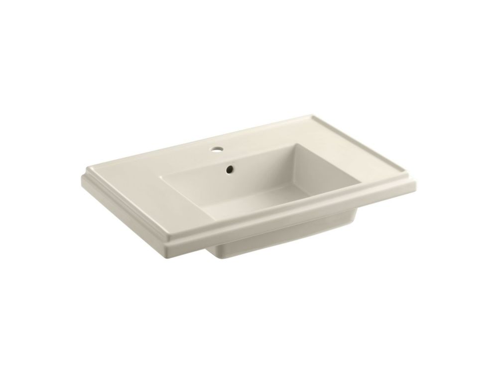 Tresham(TM) Lavatory Basin With Single-Hole Faucet Drilling K-2758-1-47 in Canada