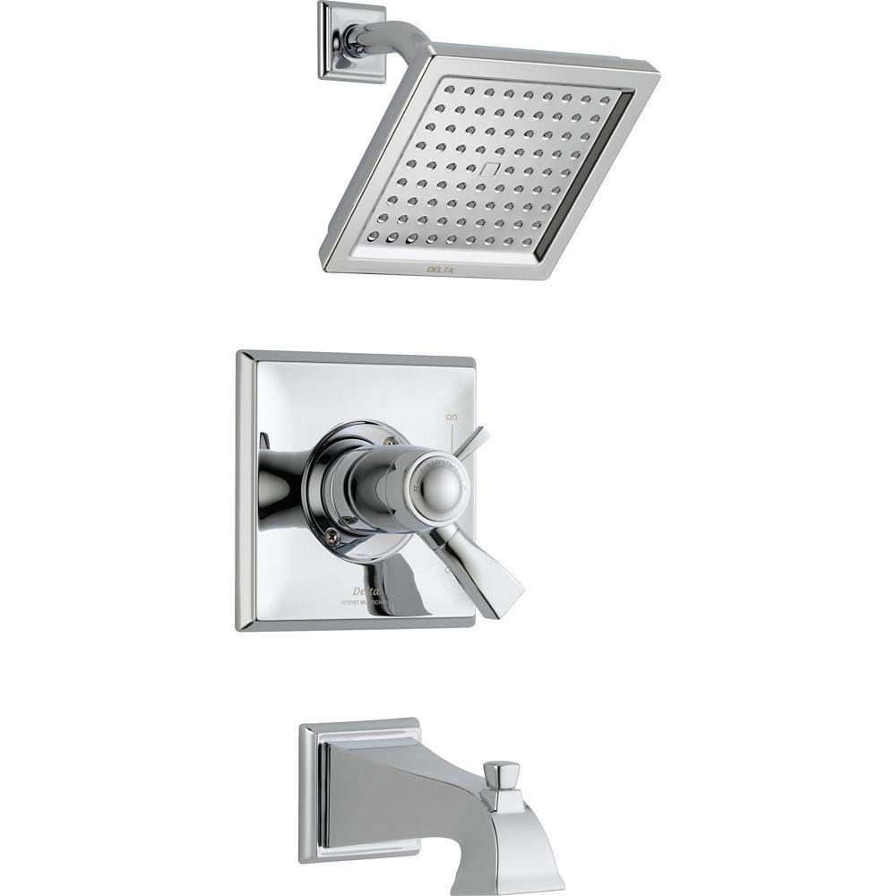 Dryden - Mitigeur de douche et baignoire, Chrome