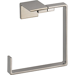 Vero Towel Ring in Stainless