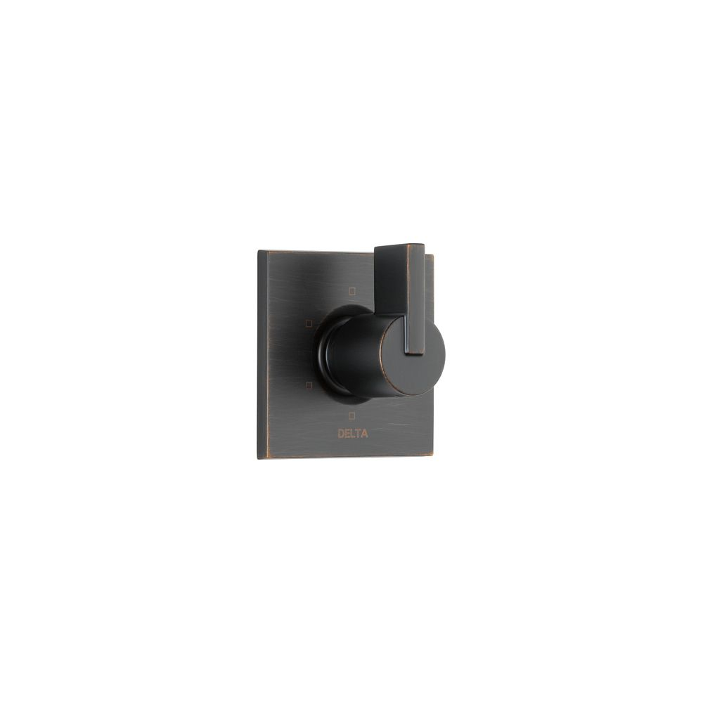 Vero 1-Handle 6-Setting Diverter Valve Trim Kit in Venetian Bronze (Valve Not Included)