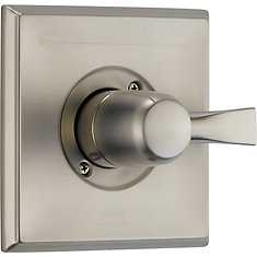 Dryden 1-Handle Valve Trim Kit in Stainless (Valve Not Included)