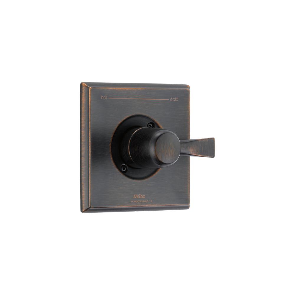 Dryden 1-Handle Valve Trim Kit in Venetian Bronze (Valve Not Included)