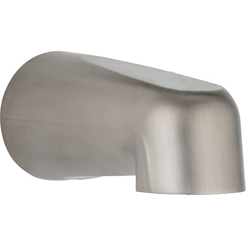 Grail Non-Diverter Tub Spout in Stainless