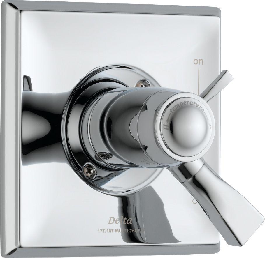 Dryden - Trousse de garniture pour soupape dinversion thermostatique, 1manette, Chrome