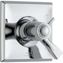 Delta Dryden 1-Handle Thermostatic Diverter Valve Trim Kit in Chrome (Valve Not Included)