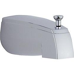Delta Pull-Up Diverter Tub Spout in Chrome