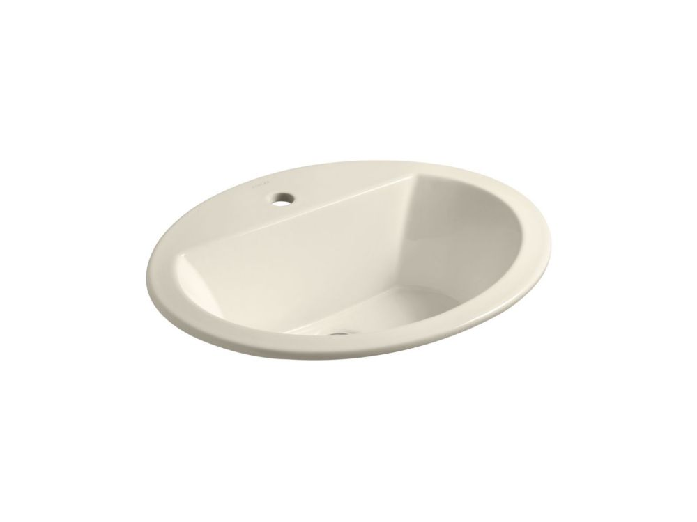 Bryant 20-inch x 16 1/2-inch Oval Bathroom Sink with Single-Hole Faucet Installation