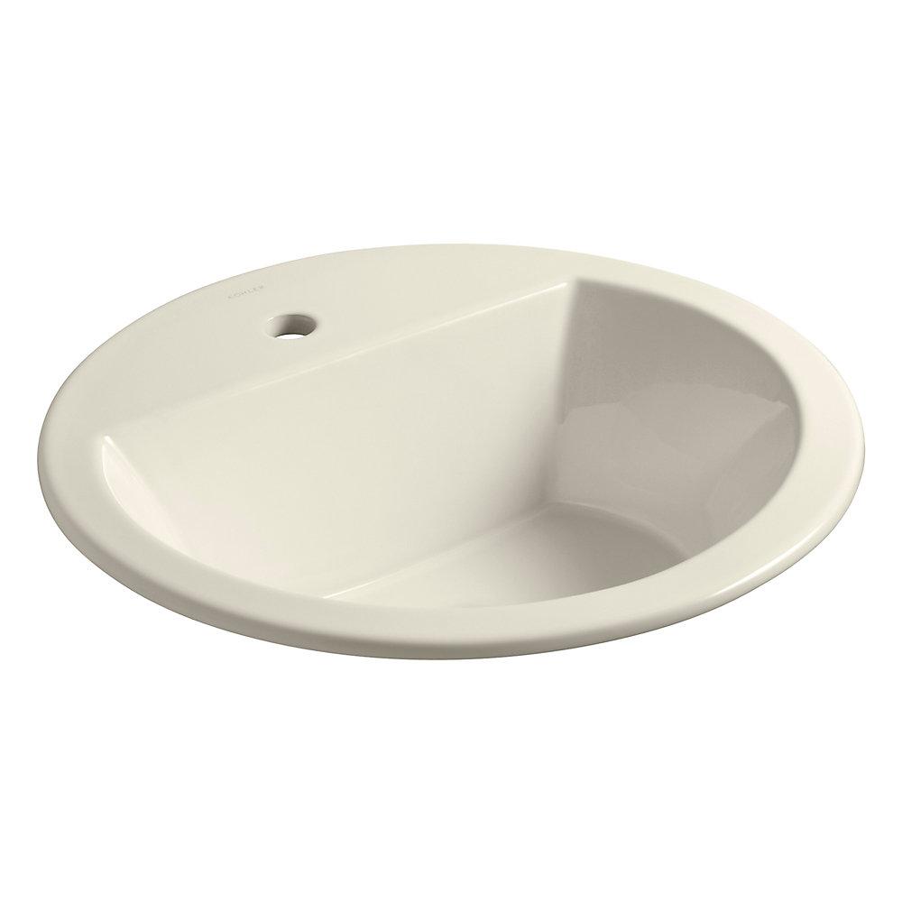 Kohler Bryant R Round Drop In Bathroom Sink With Single