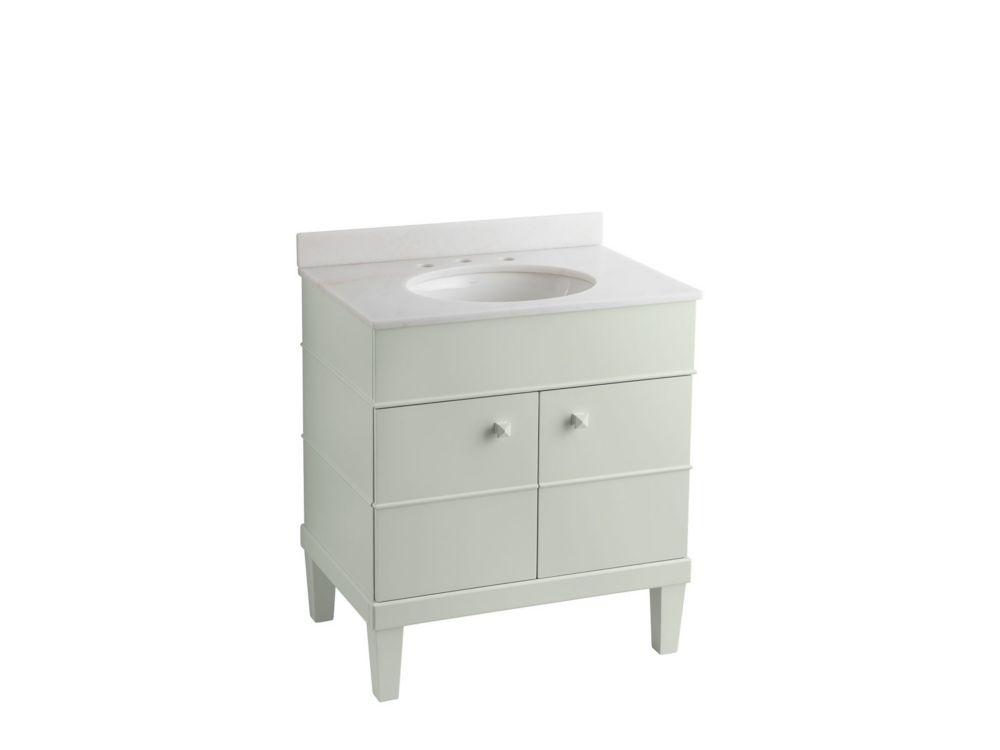 KOHLER Evandale 30-inch W Vanity in White