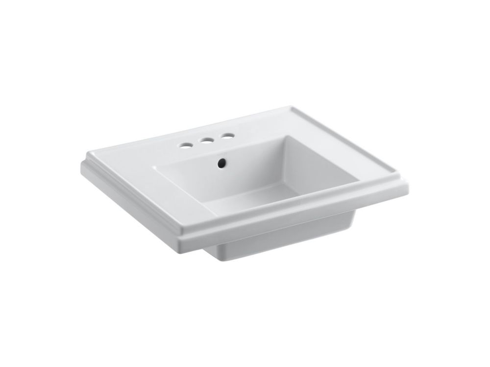 Kohler Tresham Bathroom Sink Basin With 4 Inch Centerset Faucet Installation The Home Depot Canada