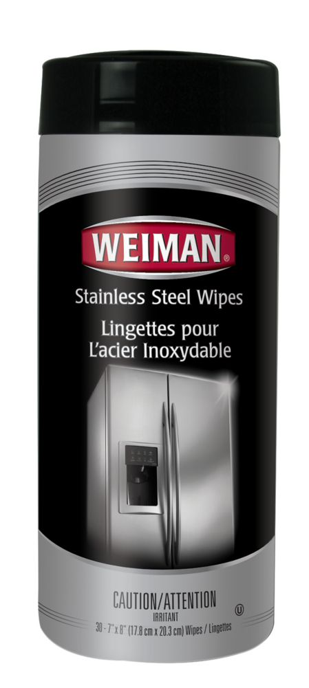 Stainless Steel Wipes - 30ct