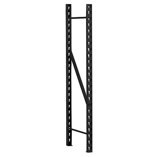 Edsal 96-inch H x 2-inch W x 30-inch D Steel Welded Frame for Storage Rack