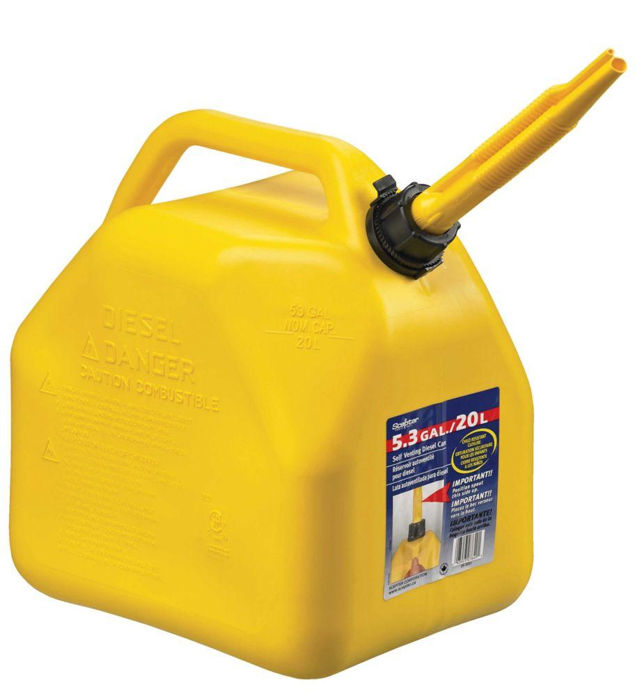 5.3 Gallon / 20 Litre Diesel Can