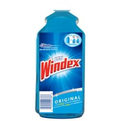 Windex Glass Cleaner with Ammonia D Refill 2L