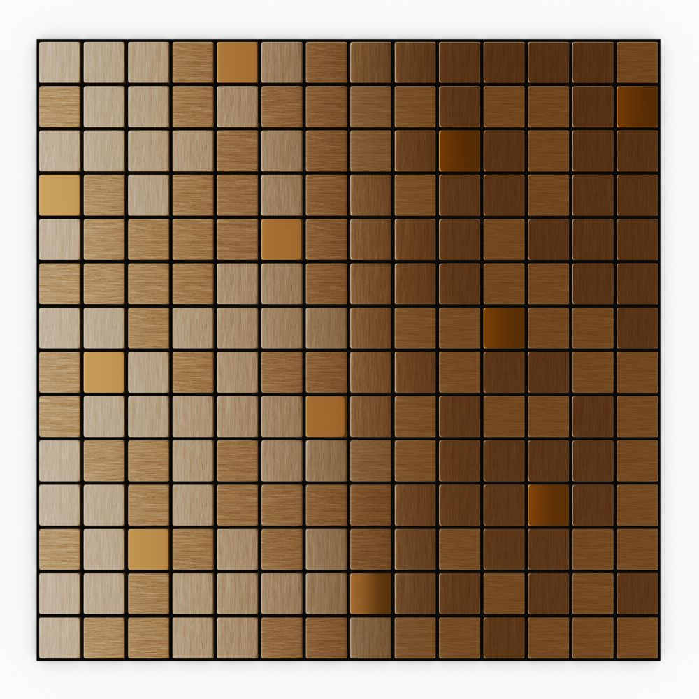 Speed tiles tuiles mosaique d'aluminium - par carreau