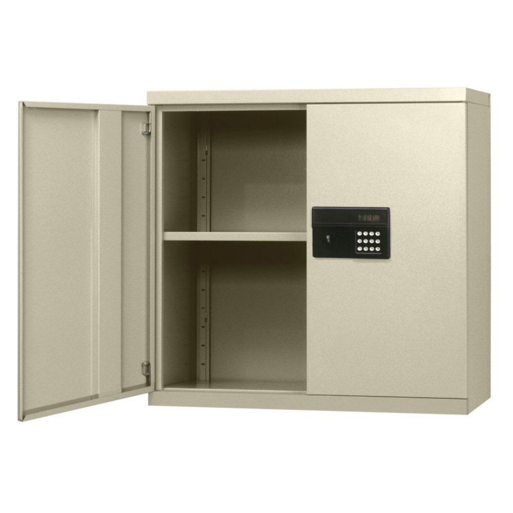 30 in. W x 12 in. D x 30 in. H Keyless Electronic Putty Wall Cabinet