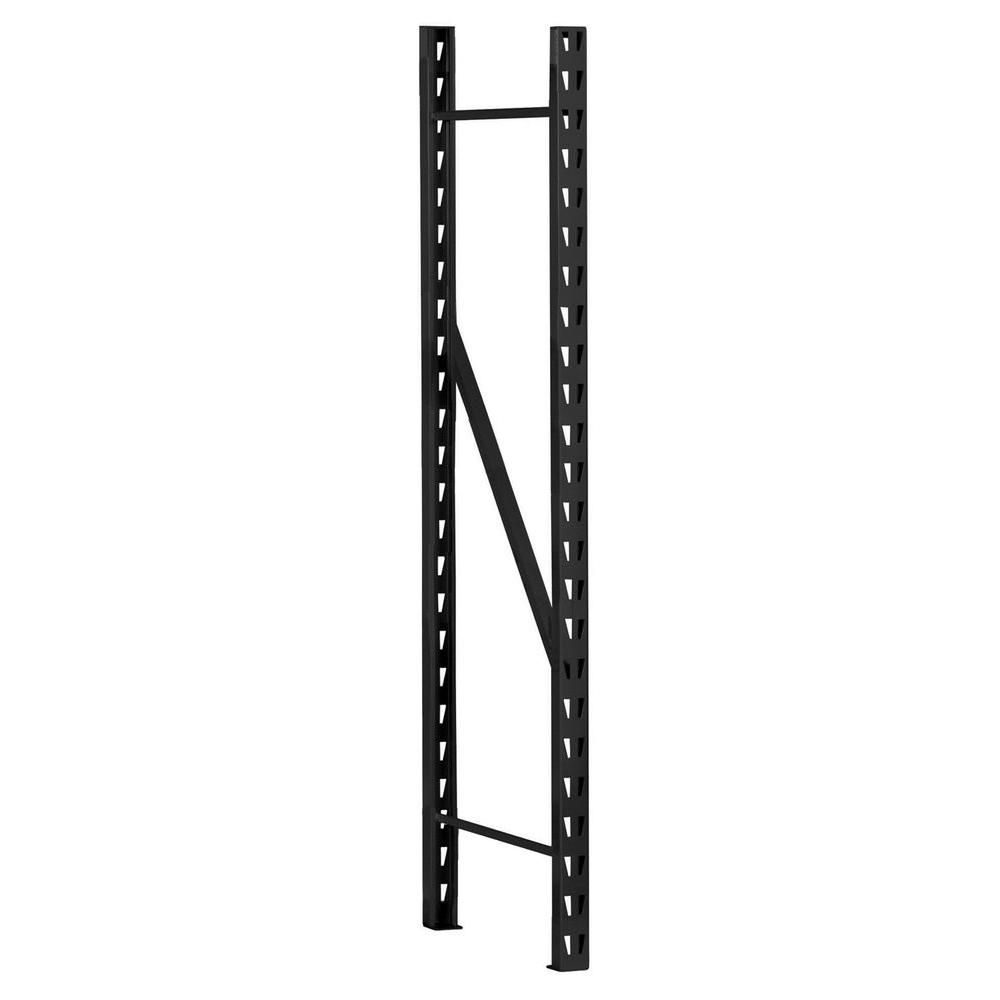 72 in. H x 18 in. D Welded Steel Frame for Rack
