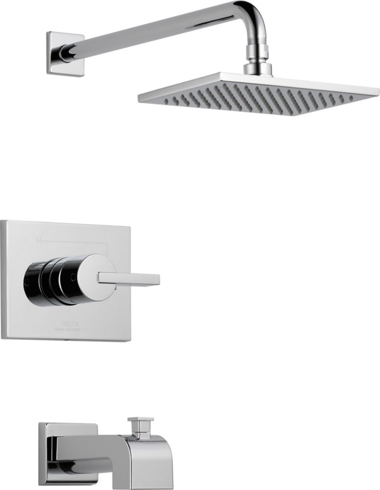 Vero Bath/Shower Faucet in Chrome