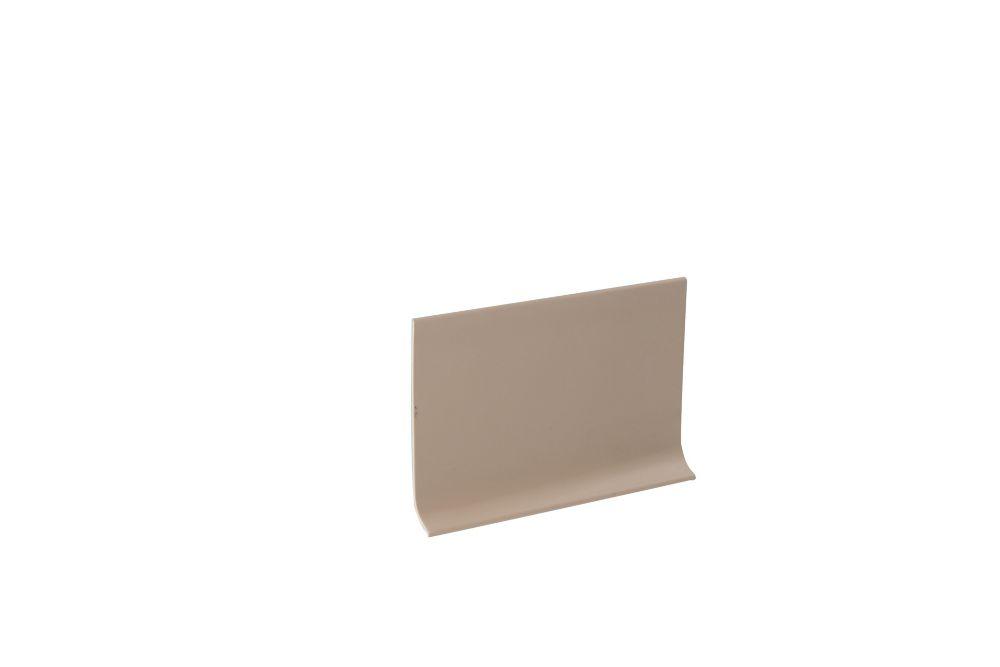4 Inch x 100 Feet Vinyl Wall Base - Beige