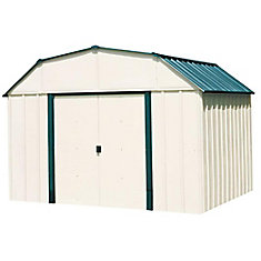 10 ft. x 8 ft. Vinyl Sheridan Steel Storage Building