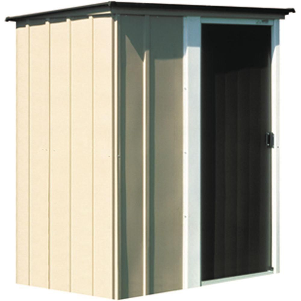 Brentwood Steel Storage Building - (5 Ft. x 4 Ft.)