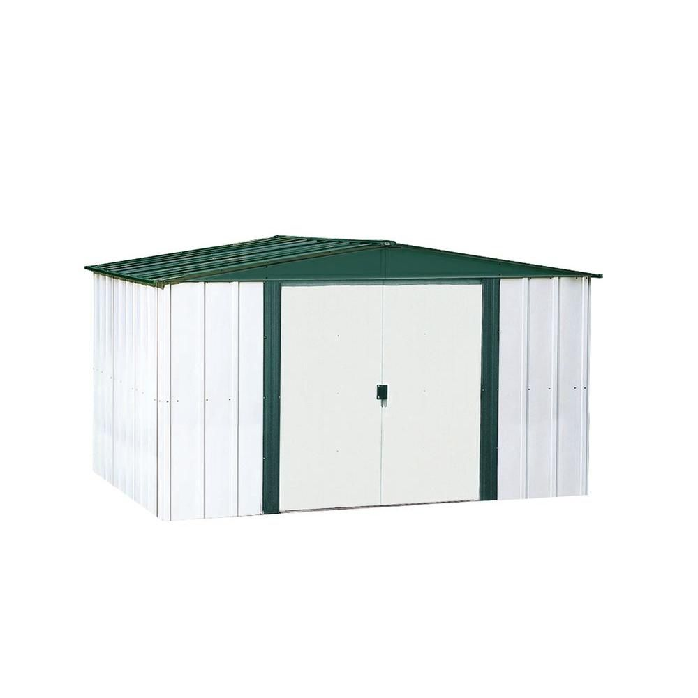 Hamlet Steel Storage Building -  (10 Ft. x 8 Ft.)