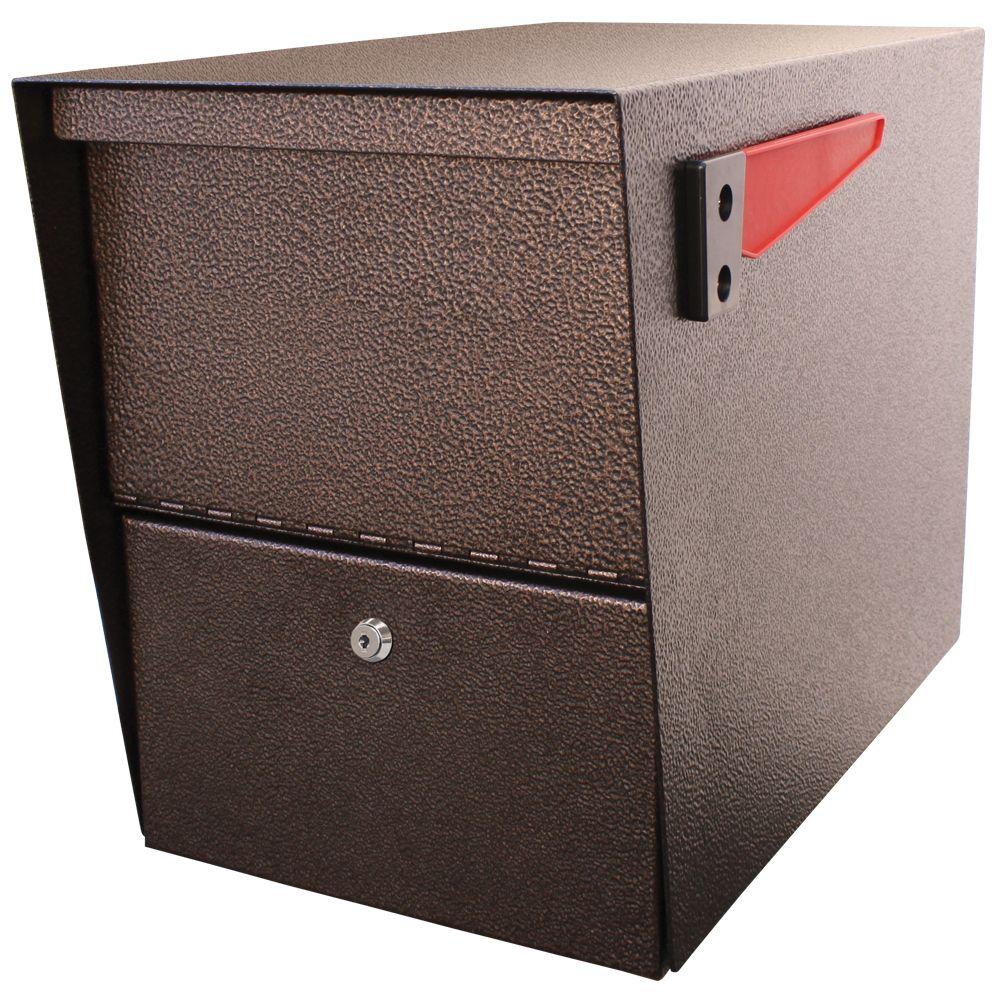 La boîte à colis Package Master de Mail Boss, en noir à bronze