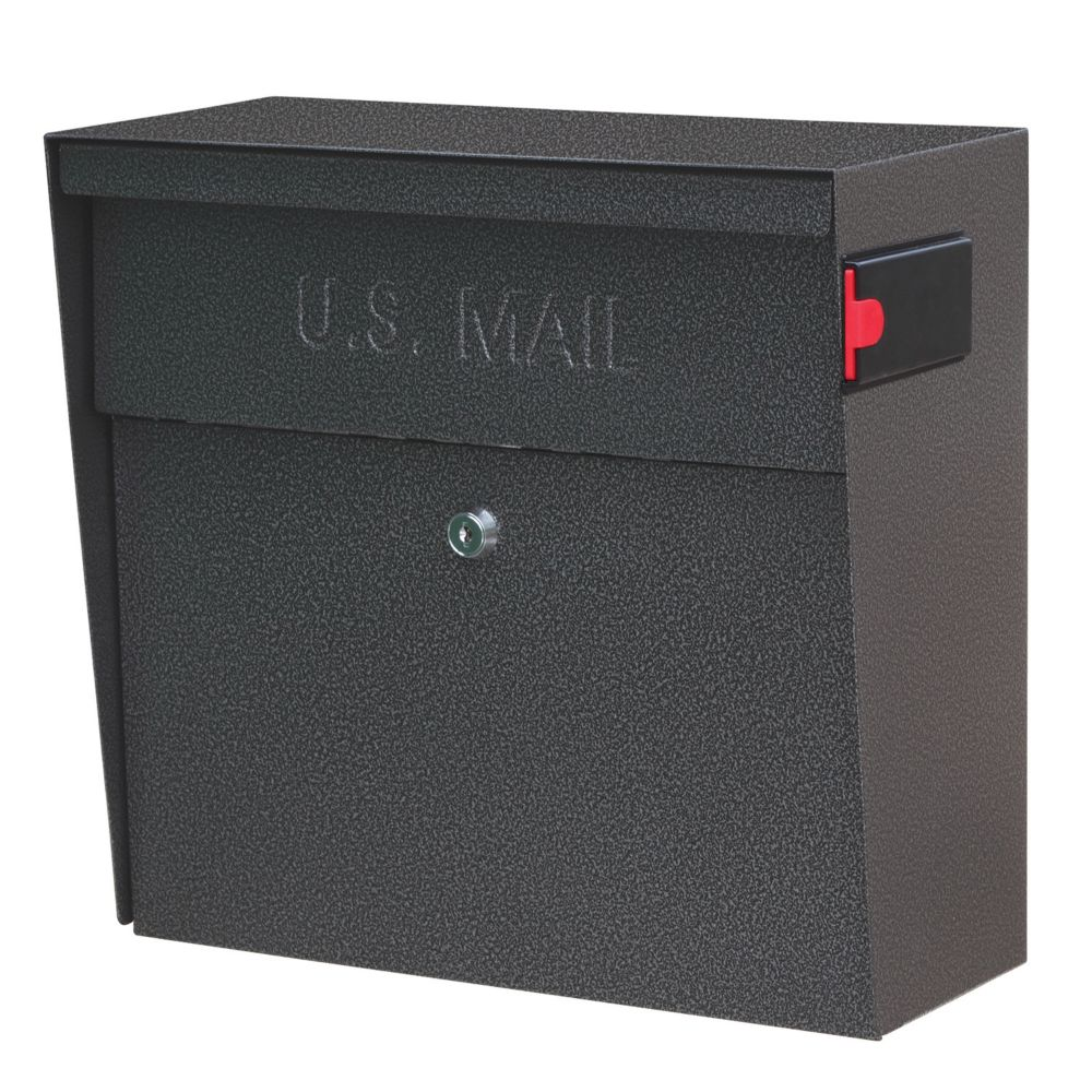 Galaxy Metro Wall Mount Locking Mailbox