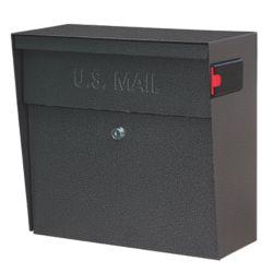 Mail Boss Galaxy Metro Wall Mount Locking Mailbox