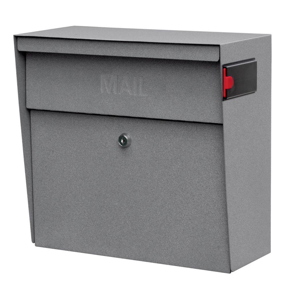 Granite Metro Wall Mount Locking Mailbox