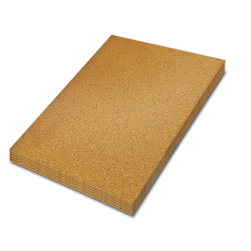 30 sq.feet ,1/4 in. x 2 feet x 3 feet Cork Underlayment (5 sheets per Pack)