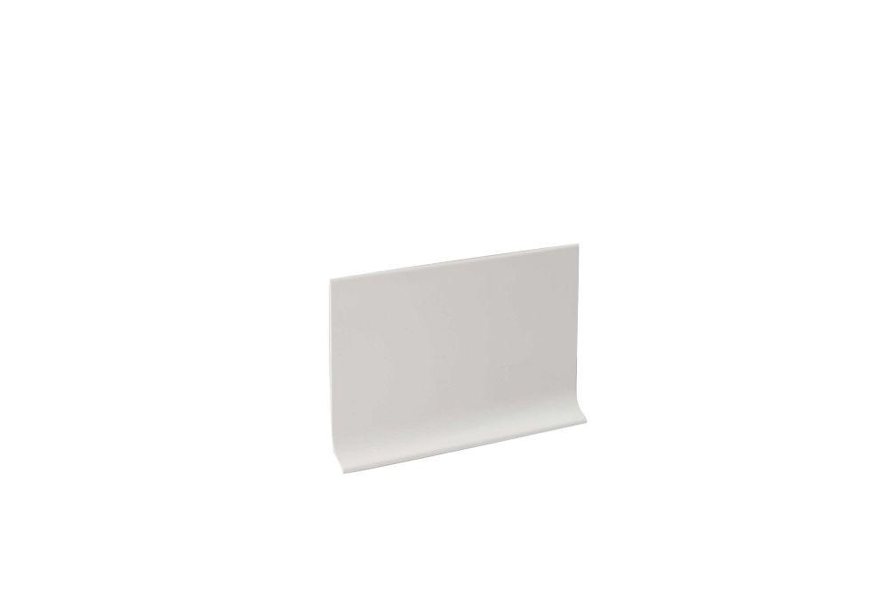 Shur Trim 4 Inch x 20 Feet Vinyl Wall Base Self Stick - White