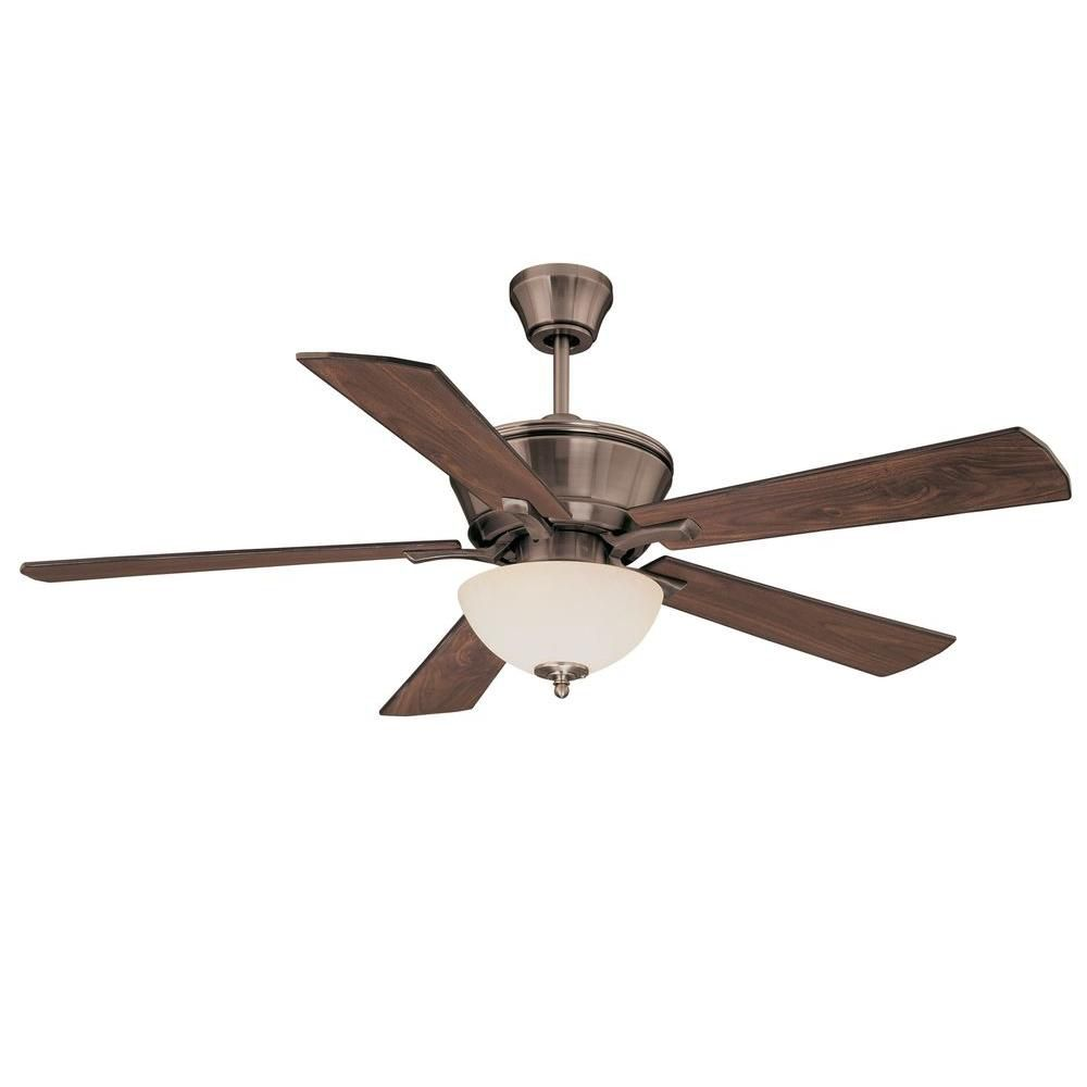 """Satin Collection 52"""" Indoor Ceiling Fan"""