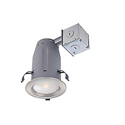Commercial Electric Luminaire encastré DEL de 3 po, fini nickel brossé- ENERGY STAR®