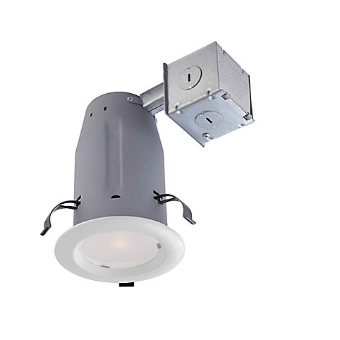 Commercial electric 3 inch led recessed lighting kit in white the commercial electric 3 inch led recessed lighting kit in white the home depot canada aloadofball Image collections