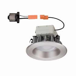 Commercial Electric Brushed Nickel Recessed LED Trim - 4 Inch - ENERGY STAR®