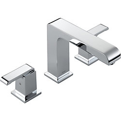 Arzo 2-Handle Roman Bath Faucet Only in Chrome (Valve Sold Separately)