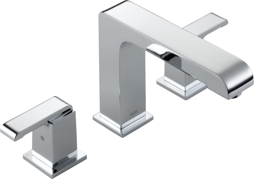 Arzo 2-Handle Roman Bath Faucet Only in Chrome