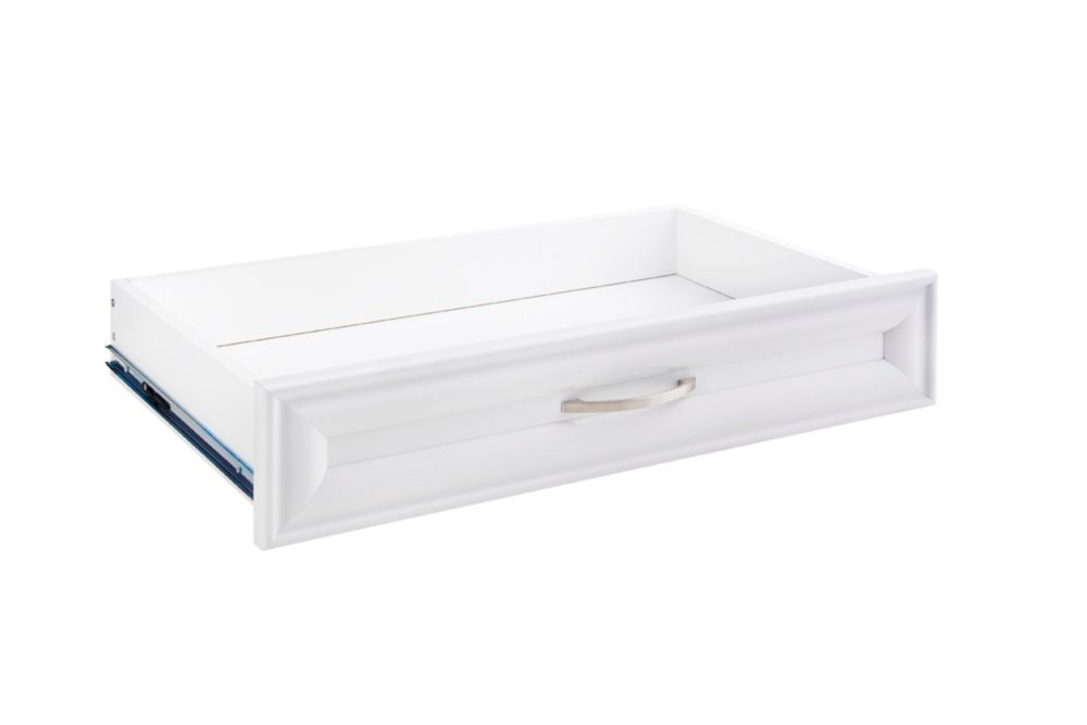 ClosetMaid Selectives 23.5-inch x 5-inch Decorative Drawer in White
